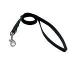 DogSpot Premium Nylon Leash Black 15 mm - Small