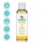 Papa Pawsome Shine O' Fur Massage Oil for Dog - 250 ml