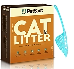 PetSpot Cat Litter - 5 kg with fresh kitty litter scoop
