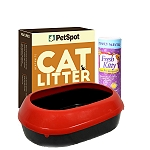 PetSpot Cat Litter - 5 kg with Cat Litter Tray & Deodorizer