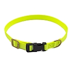 Forfurs Adjustable Classic Dog Collar Lime Green - Small