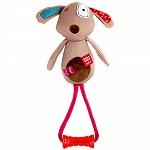 GiGwi Dog Plush Friends With TPR Johnny Stick Dog Toy