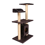 PetSpot Elite Cat Condo Tree (LxBxH-19.6x13.7x37.7) Inches