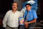 Mike Pandey and Dhruv after Launch | book launch- as cute as a pug