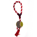 DogSpot Ball Tug Toy  With Loop - Large