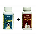 VitaSpot Multivitamin And CalSpot Calcium  Supplement For Dog - 60 Tablets