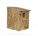 BirdSpot Small Bird Nest Box (LxBxH - 6.5x7x9.5 Inches)