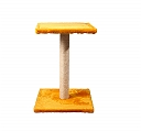 CatSpot Classic Cat Tree (LxBxH -15x15x21.2) Inches -Yellow