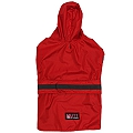 Mutt Of Course Dog Raincoat Red - Medium
