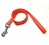 DogSpot Premium Nylon Leash Neon Orange 15 mm - Small