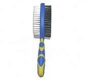 DogSpot Double Bristle Brush - Large