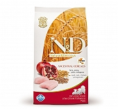 Farmina N&D Dry Dog Food Chicken & Pomegranate Puppy Mini Breed - 2.5 kg (Pack Of 4)