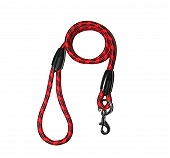 DogSpot Active Rope Leash Red - Medium