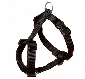 Trixie Classic Harness - Small - 15 mm - Black