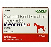 Savavet Kiwof Plus XL Dewormer - 4 Tablet