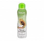 Tropiclean Luxury 2 in 1 Papaya & Coconut Shampoo & Conditioner - 355ml