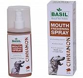 Basil Cinnamon Mouth Spray For Dog - 130 ml
