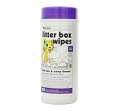Petkin Litter Box Wipes - 40 Wipes