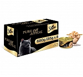 Sheba Deluxe Succulent Chicken Breast In Gravy For Adult Cat - 85 gm (Pack Of 8)