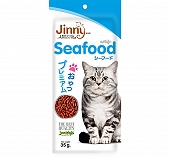 JerHigh Jinny Seafood Cat Treat - 40 gm (Pack oF 5)