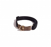 Urban Dog Berkley Martingale Collar - Black and Gold
