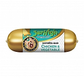 Jerhigh Chicken & Vegetable Hotdog - 150 gm (Pack Of  5)