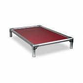 Kuranda All Aluminium Dog Bed Burgundy - XXLarge