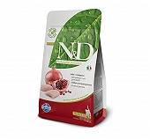 Farmina N&D Dry Cat Food Grain Free Chicken & Pomegranate Kitten - 1.5 Kg (Pack Of 8)