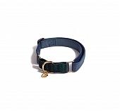 Urban Dog Berkley Martingale Collar - Navy and Dark Green