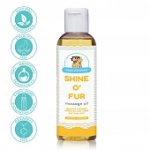 Papa Pawsome Shine O\' Fur Massage Oil for Dog - 250 ml