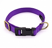 Forfurs Adjustable Classic Dog Collar Ultra Violet - Small
