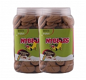 Nibbles Multigrain & Oats Dog Biscuit - 1 kg (Pack Of 2)