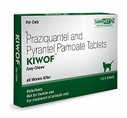 Savavet Kiwof Dewormer For Cat - 4 Tablets