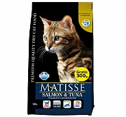 Matisse Adult Cat Food Salmon & Tuna - 1.5 Kg