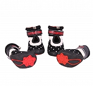 Dogspot Soft Cotton Shoes Black Size -2