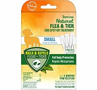 Tropiclean Natural Flea & Tick Dog Spot On Treatment 3pk - Small