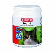 Beaphar Top 10 Multivitamin Cat Supplement  - 30 Tablets