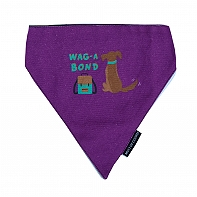 Mutt Of Course Wag-A-Bond Bandana - Small