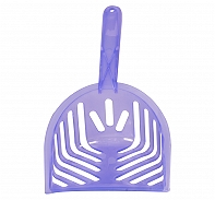 Fresh Kitty Translucent Litter Scoop - Purple