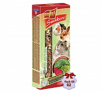 Vitapol Vegetable Smakers For Rodents - 90 gm (Pack Of 2)