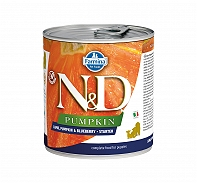 Farmina N&D Wet Dog Food Grain Free Grain Free Pumpkin Lamb & Blueberry Starter - 285 gm (6 Cans)