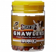 Gnawlers Meat Zip Dog Treat - 180 gm