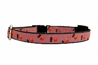 Mutt of Course Cola & Fries Collar for Dogs- Large