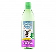 Tropiclean Fresh Breath Hip & Joint Water Additive - 473 ml