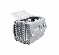Savic Zephos 2 Open Pet Carrier (LxBxH - 56 x 38 x 33) cm- Grey