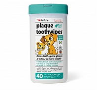Petkin Toothwipes - 40 Wipes
