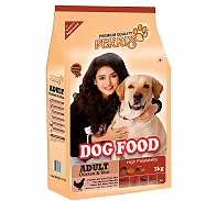 Fekrix Chicken & Rice Adult Dog Food - 3 Kg