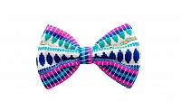Mutt of Course So Chic Bow Tie- Blue