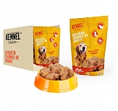 Kennel Kitchen Chicken Chunks In Gravy 100 gm (Pack of 15)