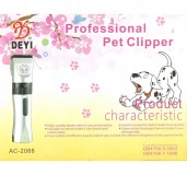 Professional Pet Clipper Kit With Dual Battery